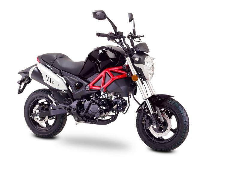 romet pony 4t euro 4 50cc visatex skutery motocykle. Black Bedroom Furniture Sets. Home Design Ideas