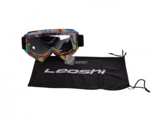GOGLE ENDURO LEOSHI MX MULTICOLOR