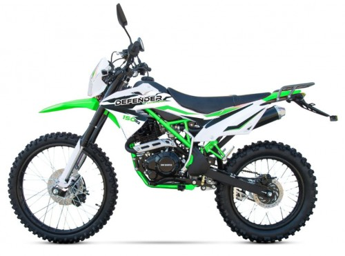 "Cross Mikilon DEFENDER 250CC 21/18"" E-start Lampa model 2020r."